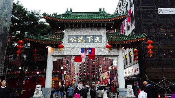 Boston, China, Town, District, Chinese, City