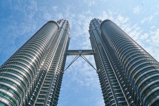 Malaysia, Building, Skyscraper, Contemporary
