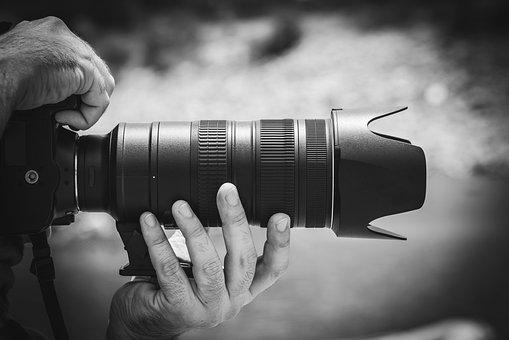 Dslr, Cam, Camera, Photo, People, Man, Hand, Zoom