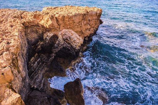 Cape, Coast, Rocky, Sea, Waves, Cliff, Scenery, Coastal