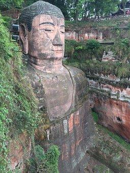 Giant Buddha, Sichuan, China, Southwest China