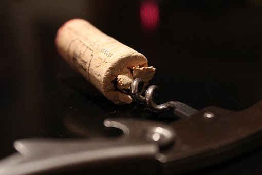 Cork, Corkscrew, Wine, Red Wine, Bottle Opener, Drink