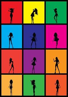 Girls, Fashion, Fashion Girl, Young, Female, Woman