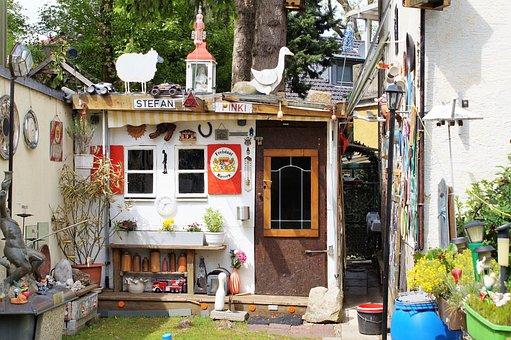 Flea Market, House Flea Market, Hut, Art, Style