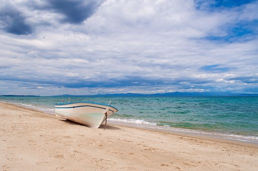 Beach, Island, Nautical Vessel, No People, Nobody