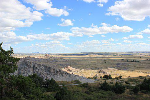 Badlands, South Dakota, Park, Nature, Landscape, Scenic