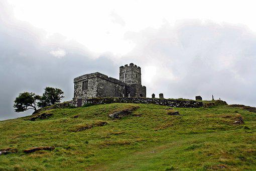 Lost Places, Ruin, Middle Ages, Celtic, Mystical
