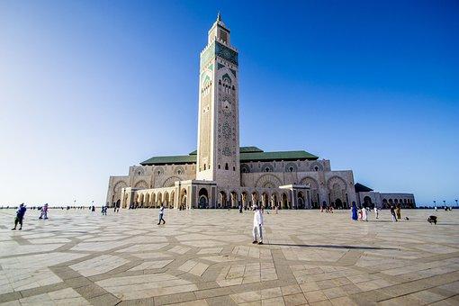Mosque Hassan 2, Casablanca, Morocco