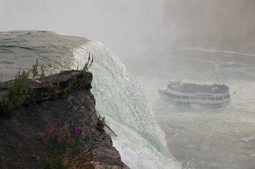 Niagara Falls, American, Niagara, River, Canada