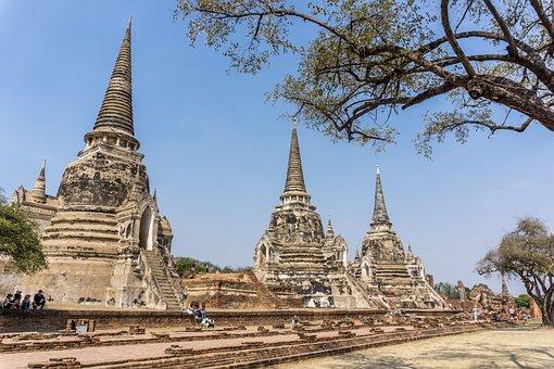 Phra Nakhon Si Ayutthaya, Thailand, World Heritage