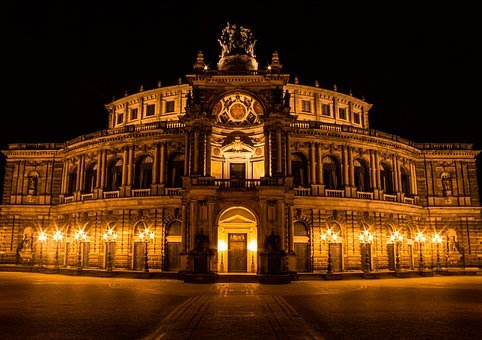 Dresden, Places Of Interest, Semper Opera House, Opera