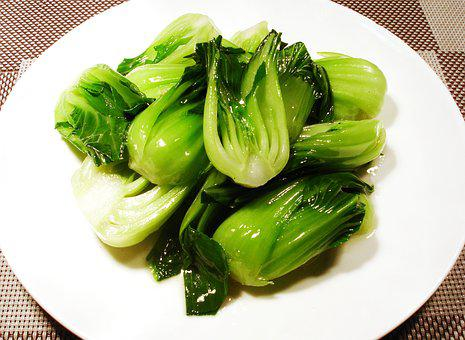 Prime Fried Shanghai Green, Tablespoon Dish