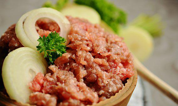 Minced Meat, Minced ' Meat, Meat, Schweinemett, Cook