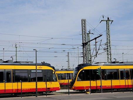 Train, Tram, Track, Siding, Transport