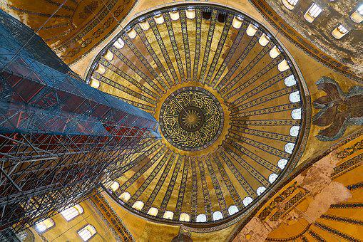 Architecture, Istanbul, Church, Turkey, Hagia Sophia