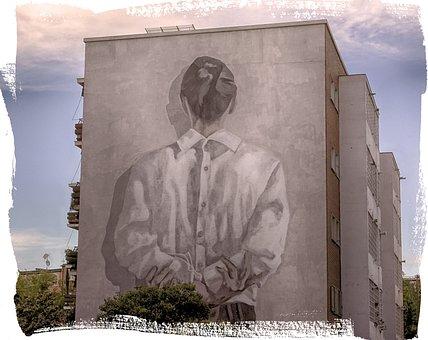 Urban, Urban Art, Art, Mural, Paint, Exterior, Artistic