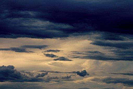 Gewitterstimmung, Wolkenspiel, Clouds, Cloud Formation