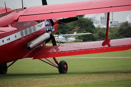 Aircraft, Antonov, Red Eagle, Oldtimer