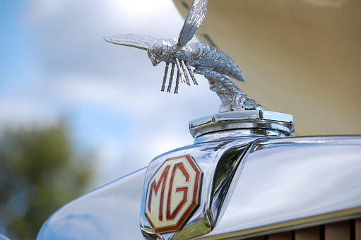Mg, Hornet, Car, Antique, Classic, British, Vintage