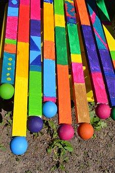 Art, Colorful, Wood, Bright, Artwork, Wooden Sticks