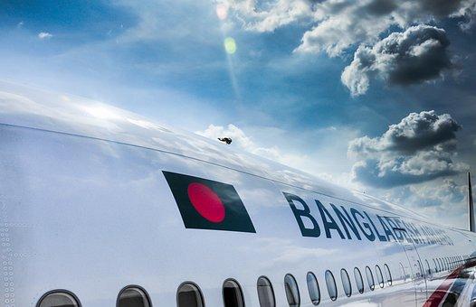 Biman, Plane, Sky, Bangladesh Biman