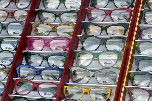 Glasses, Exhibition, Optician, Lenses, Shop, Buy, Sight