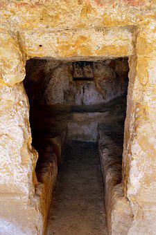 Cave, Tomb Cave, Crete, Matala, Greece