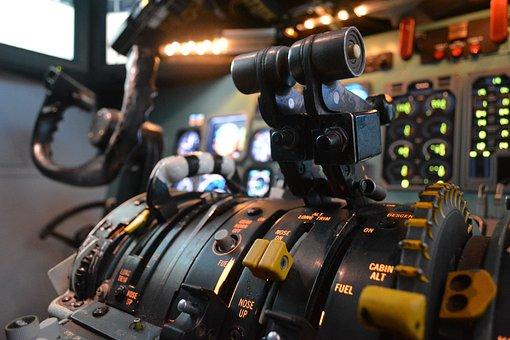 Simulator, Aviation, The Md-80, Dc9, The Cockpit