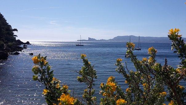 Cote D'azur, Sea Mediterranean, France