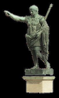 Statue, Caesar, Augustus, Gaius, Octavius Thurinus