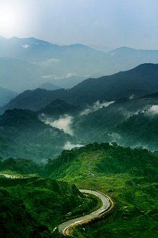 Genting Highland, Hill, Zikzack, Malaysia, Landscape
