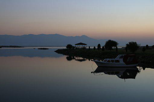 Sunset, Marine, In The Evening, Landscape, Turkey