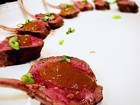 Lamb, Appetizer, Chop, Food, Fresh, Meat, Cuisine, Dish