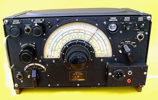 Ww2, Raf, Lancaster Bomber, Radio, Receiver