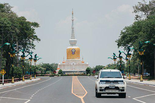 Pagoda, Measure, Tourism, Thailand, Architecture