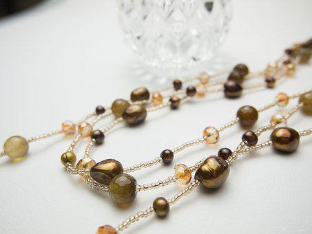 Freshwater Pearl, Necklace, Accessories