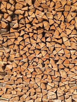 Logs, Firewood, Lumber, Texture, Cut, Pile, Fire, Wood