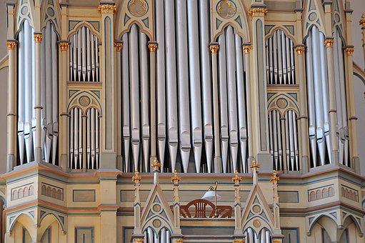 Church, Organ, Metal, Reformed Church, Decs, Music