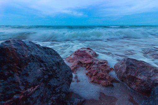 Sea, Sandy Beach, Seashore, Wave, Sea Water