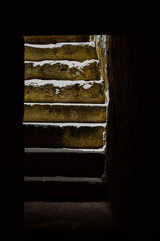 Staircase, Light, Stairs, St Solomoni Catacomb, Paphos