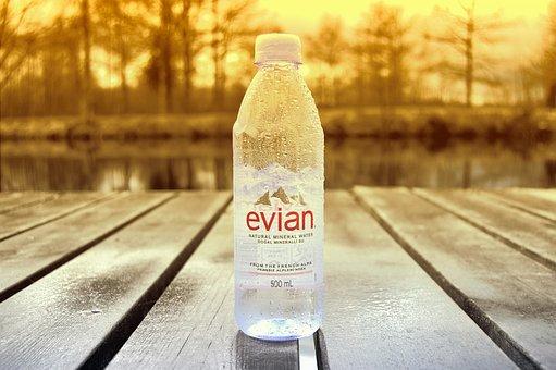 Evian, Water, Still, Drink, Sweden, Bridge, Outdoor