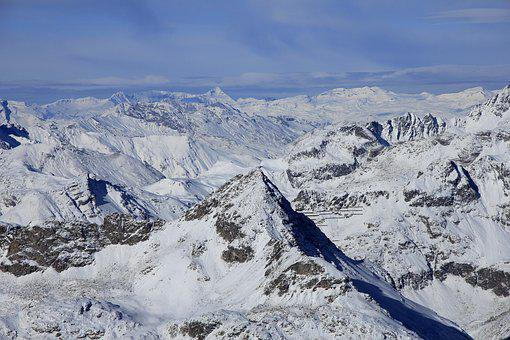Alps, Switzerland, Corvatsch - View