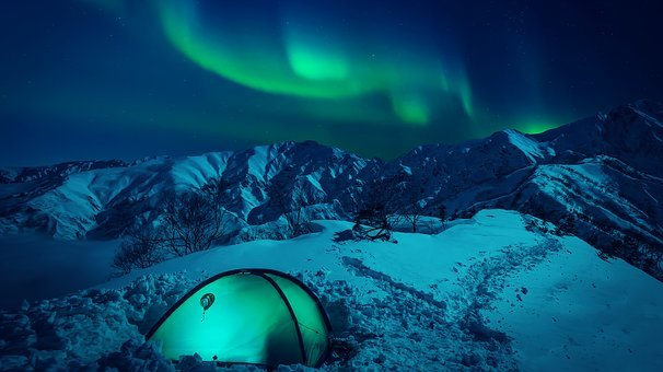 The Northern Lights, Radiance, The Polar Circle