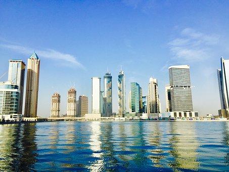 Dubai, Canal, Uae