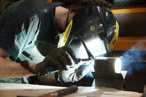 Production, Welder, Argon Welding, Krupnyj Plan