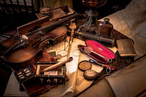 Western-style, Antique, Detective, Sherlock Holmes