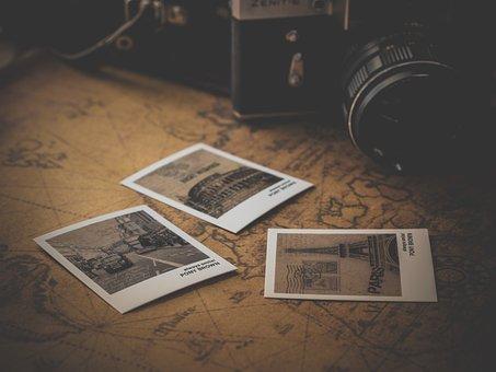 Old, Retro, Antique, Vintage, Classic, Photo, Map