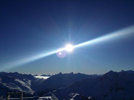 Mountains, Alpine, Tyrol, Snow, Landscape, Austria