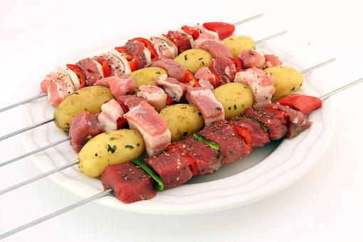 Barbeque, Bbq, Beef, Cholesterol, Closeup, Colorful