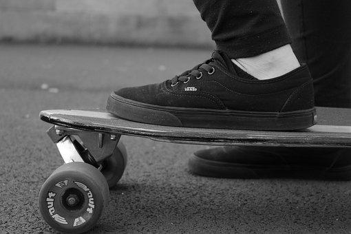 Vans, Skate, Shoes, Skateboard, Skating, Board, Female